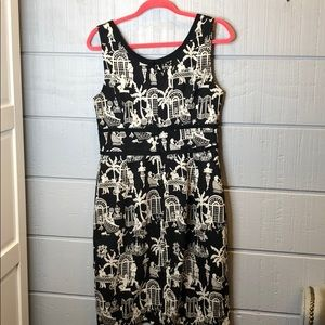 Lilly Pulitzer Dresses - Lilly Pulitzer late night toile dress